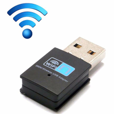 300 Mbps Kartu Jaringan Nirkabel Mini USB Router WiFi 802.11n/G/BWI-FI LAN Internet ADAPTER untuk Komputer Android TV Box-Intl