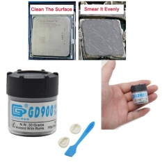 30g Abu-abu GD900 Heat Sink Compound Thermal Grease Paste-Intl