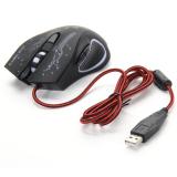 Harga 3200Dpi Led Optik 6D Tombol Dengan Kabel Usb Mouse Pro Permainan Untuk Permainan Yang Murah