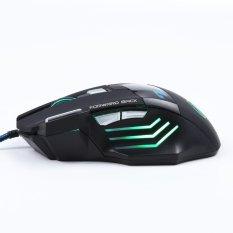 Jual 3200 Dpi Led Optik 7D Usb Kabel Mouse Permainan Game For Pc Laptop Hitam Oem Ori