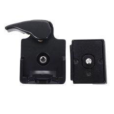 Toko 323 Quick Release Clamp Adaptor Untuk Kamera Tripod Dslr Dengan 200Pl 14 Qr Plate Dekat Sini