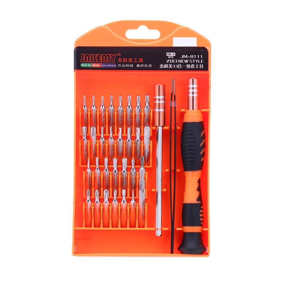 Beli 33 In 1 Magnetic Dipertukarkan Presisi Obeng Set Alat Manual Kit Vakind Online