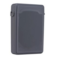 3 5 Hard Case Hdd Ssd Anti Static Disk Storage Box Shockproof Dust Proof Non Slip Gray Intl Diskon Tiongkok