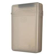 3.5 ''inch IDE SATA HDD Hard Drive Disk Plastik Kotak Penyimpanan Case Enclosure Cover Gray