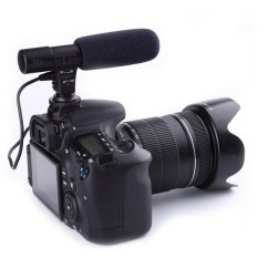 Obral 3 5Mm Arah Mikrofon Eksternal Untuk Canon Nikon Dslr Kamera Dv Camcorder Intl Murah