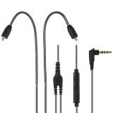Spesifikasi 3 5Mm Wired Earphone Kabel Pengganti Yang Dapat Dilepas Kabel Headphone W Mikrofon Konektor Mmcx Untuk Shure Se215 Se315 Se425 Se535 Se846 Ue900 Headphones Grey Intl Terbaru