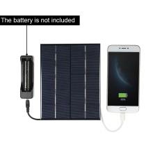 Jual Cepat 3 5 W 5 V Silikon Polikristal Solar Panel Solar Cell Untuk Power Charger Usb Port Intl