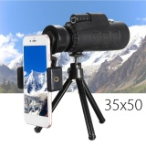 Spesifikasi 35X50 Monocular Telescope Lens Camera Hd Scope Hunting Phone Holder Tripod Intl Murah Berkualitas