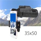 Jual 35X50 Telephoto Monocular Lensa Kamera Phone Holder Berdiri Untuk Ponsel Intl Termurah