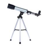 Promo 360 50Mm Bermata Pembiasan Angkasa Teleskop Terpasang Kaca Optik With Dipilih Lensa Mata Tabletop Rops Tumpuan Kaki Tiga
