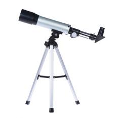 Toko 360 50Mm Bermata Pembiasan Angkasa Teleskop Terpasang Kaca Optik With Dipilih Lensa Mata Tabletop Rops Tumpuan Kaki Tiga Oem Online