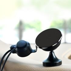360 Gelar Bisa Diputar Mobil Otomatis Nano Universal Micro-suction Dasbor Telepon Selular Pengisian Penyangga Penahan, untuk 3.5-5.5 Inch iPhone, Galaksi, Huawei, Xiaomi, Sony, LG, HTC, google dan Ponsel Pintar Lainnya-Internasional