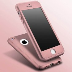 360 Full Hybrid Case For Iphone 5 / 5s / SE - Rose Gold