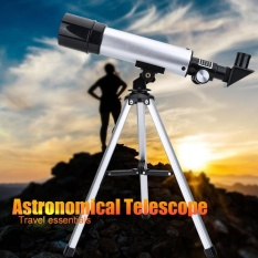 360/50mm Monocular Space Astronomical Telescope with Tripod for Children Beginners - intl