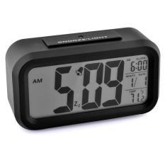 Beli 360Dsc Lcd Digital Smart Sensor Alarm Jam Hitam Yang Bagus