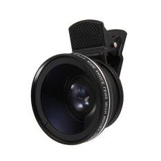 Situs Review 37Mm 45X Super Wide Angle Lens Dengan 12 5X Super Lensa Makro Untuk Ponsel Hitam Intl