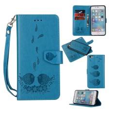 3D Burung Dua Unity Mewah Kulit Lipat Sarung Case untuk IPHONE 7/Iphone 8 4.7