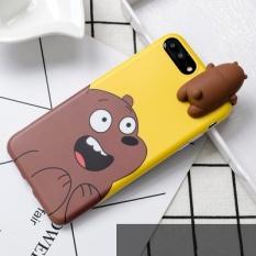 3D Bonito Brinquedos Ursos Silicone Soft Phone Case Pelindung Belakang Menutupi Case untuk Apple IPhone 6/6 S 4.7 INCH-Intl
