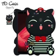 3D Case Oppo F5 Softcase 4D Karakter Boneka Kucing Doraemon Hello Kitty Lucu Character Cartoon