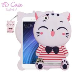 3D Case Xiaomi Redmi 4A Softcase 4D Karakter Boneka Hello Kitty Doraemon Lucu Character Cartoon XO2