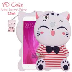 3D Case Xiaomi Redmi Note 5A Prime Finger Softcase 4D Karakter Boneka Kucing Hello Kitty Doraemon Lucu Character Cartoon
