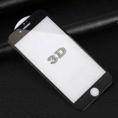 3D Melengkung Full Cover 9 H Hardness Tempered Glass Screen Protector Film Untuk Iphone 6 6 S 4 7 Inch Tidak Serat Karbon Hitam Intl Diskon Akhir Tahun