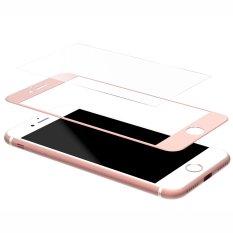 Diskon Produk 3D With Layar Melengkung Depan Liputan Film Pelindung Anti Gores Untuk Iphone 7 Plus 9 Jam Anti Sidik Jari Sangat Tipis Mawar Emas