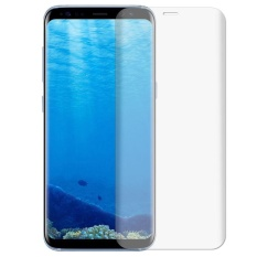 3D Melengkung Tempered Glass Front Screen Protector Cover untuk Samsung S8 +-Intl