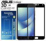 Harga 3D Full Cover Tempered Glass Ranmel Warna Screen Protector For Asus Zenfone 4 Selfie Pro 5 5Inc Black Yang Murah Dan Bagus
