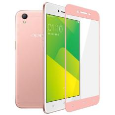 3D Full Cover Tempered Glass Warna Screen Protector for Oppo Neo 9 / A37 - Rosegold