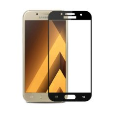 3D Full Cover Tempered Glass Warna Screen Protector for Samsung Galaxy J5 Prime - Black