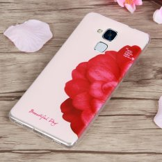 3D Relief TPU Soft Phone Case for Huawei Honor 5C (Multicolor) - intl
