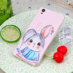 Jual Cepat 3D Relief Tpu Soft Case Untuk Oppo A37 Multicolor