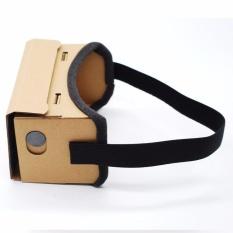 Spesifikasi 3D Vr Virtual Reality Cardboard Google Headset Video Game Kacamata Untuk Ponsel Intl Lengkap Dengan Harga