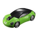Beli 3D 2 Optik Nirkabel 4G Mobil Berbentuk Tikus 1600Dpi Usb Untuk Pc Laptop Hijau Oem Murah