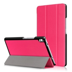 3Folio Smart Stand Leather Flip Cover Case for Lenovo Tab 4 8 Plus TB-8705F/N 8inch - intl