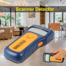 3-In-1 LCD Cerdas Pejantan Scanner Detektor Logam Kawat AC Pencari Kayu Dinding BI454