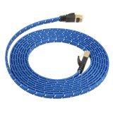Toko 3 M Tahan Lama Kuat Cat 7 Cat7 Rj45 10 Gbps Kabel Jaringan Lan Kabel Ethernet Pipih Online Tiongkok