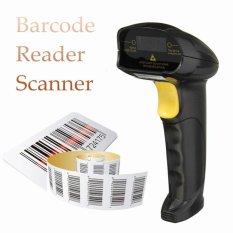 3 Pcs Hitam USB Handheld Laser Barcode Bar Code Scan Reader Scanner-Intl