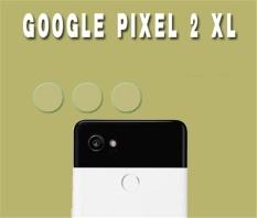 3x Camera Screen Protector Glass Fiber Back Camera Lens Protective Film for Google Pixel 2 XL