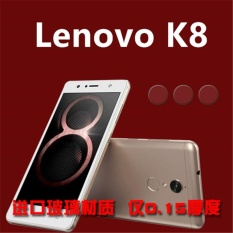 3x Camera Screen Protector Glass Fiber Back Camera Lens Protective Film for Lenovo K8