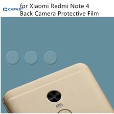 3x Pelindung Layar Kamera Kaca Fiber Back Lensa Kamera Film Pelindung untuk Xiaomi Redmi Note 4-Intl