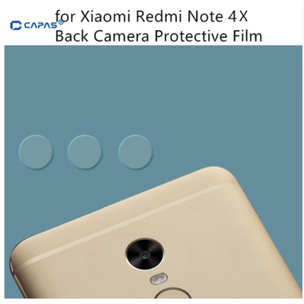 3x Pelindung Layar Kamera Kaca Fiber Back Lensa Kamera Film Pelindung untuk Xiaomi Redmi Catatan 4X-Intl
