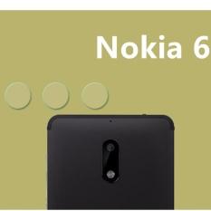 3 XCamera Screen Protector HD Clear Back Kamera Lens Glass Fiber Stiker Film Pelindung untuk Nokia 6-Intl