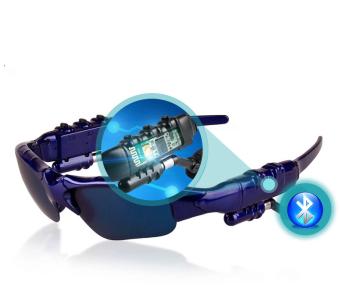 Beli sekarang 4.1 Stereo Bluetooth Kacamata Headset Olahraga Kacamata Smart Bluetooth Kacamata Biru terbaik murah - Hanya Rp229.631