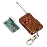 Diskon 4 Saluran Radio Remote Mengendalikan Rancangan Rf Modul Pemancar Penerima Branded
