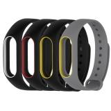 Spesifikasi Asli 4 Color Silicone Penggantian Wrist Band Strap Untuk Mi Band 2 Miband 2 Yang Bagus Dan Murah