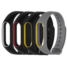 Jual Beli Asli 4 Color Silicone Penggantian Wrist Band Strap Untuk Mi Band 2 Miband 2 Baru Tiongkok