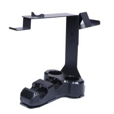 4 In 1 Berdiri dengan Port Station untuk PS4 PlayStation PS VR Headset-Intl