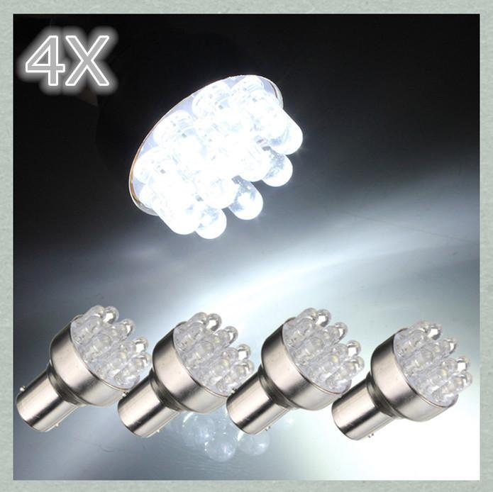 Beli 4 Pcs 1156 Ba15S 1 W 12 Led Putih Lampu Sein Mobil Ekor Lampu Rem Bohlam 12 V Intl